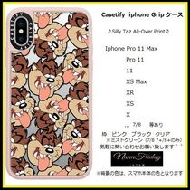 Casetify iphone Gripケース♪Silly Taz All-Over Print♪