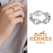 HERMESフランス直送Bague Chaine D'Ancre EnchaineeリングPM