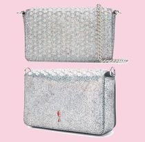 Christian Louboutin Zoompouch NAPPA SPIKES BAG