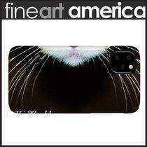 【FineArtAmerica】iPhone スリム ケース 猫 whiskers