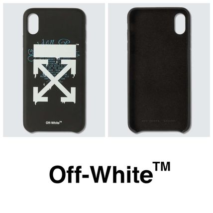 Off-White スマホケース・テックアクセサリー 【OFF-WHITE】オフホワイト Dripping Arrows iPhone Xs Max case
