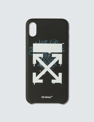 Off-White スマホケース・テックアクセサリー 【OFF-WHITE】オフホワイト Dripping Arrows iPhone Xs Max case(3)