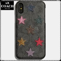 【Coach】コーチ☆iPhone XRケース☆Signature Canvas/Snakeskin