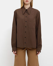 LEMAIRE(ルメール) ブラウス・シャツ ~LEMAIRE~ POINTED COLLAR SHIRT カラーポイント シャツ
