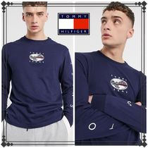 Tommy Jeans トミージーンズ 袖ロゴ 長袖 Tシャツ ロンT 送関込