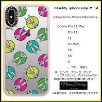 Casetify iphone Grip case♪Bugs Bunny All Ears Polka Print♪