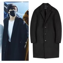 ★IN SILENCE★BTS 着用★SOLIST OVERSIZE CASHMERE COAT BLACK