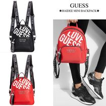 【GUESS】ロゴストラップ●HAIDEE MINI BACKPACK●バックパック