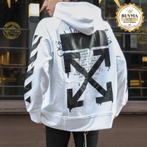 【EMS発送込】 Off-White☆20SS DRIPPING アロー ロゴ パーカー