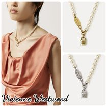 Vivienne Westwood☆LUNA NECKLACE 南京錠ネックレス ペンダント