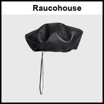 ☆Raucohouse☆  ベレー帽 LEATHER BERET HAT