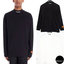 関税込HERON PRESTON 2020SS CTNMB TURTLENECK L/S Tシャツ ロゴ