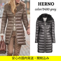 ★豪華なダウンコート★ HERNO ELISA Luxury long down jacket