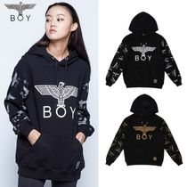 ★BOY LONDON★EAGLE BOY REPEATED SLEEVE HOODIE - B93HD1004U