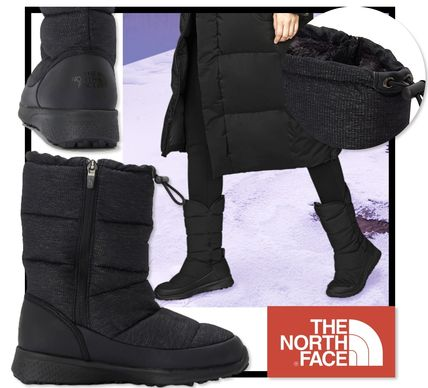 THE NORTH FACE ミドルブーツ ★関税込★NORTH FACE W BOOTIE ZIP CLASSIC ダウンブーツ レア