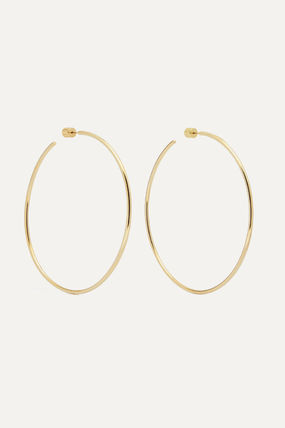 JENNIFER FISHER イヤリング プレゼント◆3 Thread gold-plated hoop earrings(2)