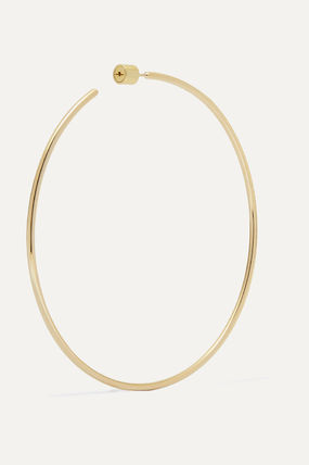 JENNIFER FISHER イヤリング プレゼント◆3 Thread gold-plated hoop earrings(5)