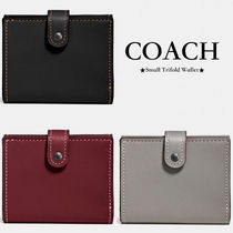 【COACH】コンパクトミニ財布!●Small Trifold Wallet/三つ折り
