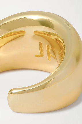 JENNIFER FISHER 指輪・リング プレゼント◆New Cylinder gold-plated ring(5)