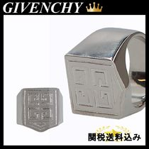 GIVENCHY 4G SIGNET RING IN BRASS
