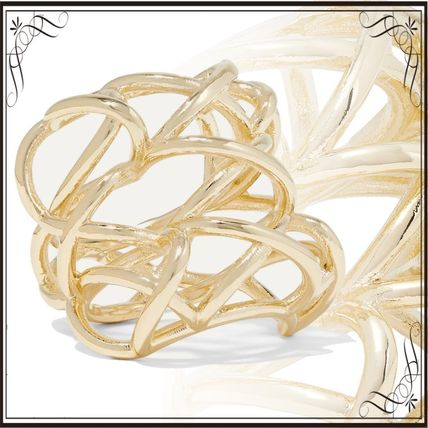 JENNIFER FISHER 指輪・リング プレゼント◆Lace Up gold-plated ring