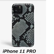 The Case Factory★iPhone 11 PRO ケース パイソンスチール
