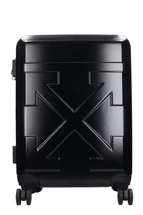 Off-White スーツケース 関税込み◆Off-White Arrow Trolley  In Black Pvc(2)