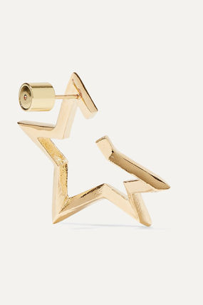 JENNIFER FISHER イヤリング プレゼント◆Baby Classic Star gold-plated earrings(4)