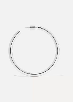 JENNIFER FISHER イヤリング プレゼント◆Baby Lilly silver-plated hoop earrings(3)