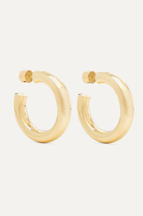 JENNIFER FISHER イヤリング プレゼント◆Mini Kevin gold-plated hoop earrings(2)