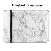uniqFIND*WHITE MARBLE MacBook スリーブケース