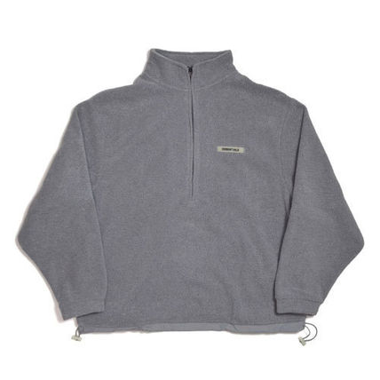 FEAR OF GOD トップスその他 【FOG】Essentials Polar Fleece Half Zipper Pullover