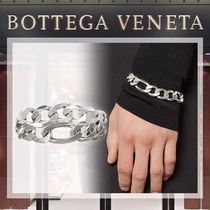 【19AW NEW】 BOTTEGA VENETA_men/ チェーンブレスレット / SV