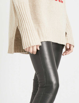 ZADIG & VOLTAIRE ボトムスその他 関税込み◆Pharel Cuir Deluxe mid-rise leather leggings(6)
