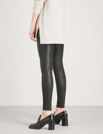REISS ボトムスその他 関税込み◆Goldie leather leggings(4)