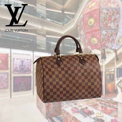 Louis Vuitton ボストンバッグ 2019AW【Louis Vuitton】スピーディ 30 ダミエ・エベヌ バッグ
