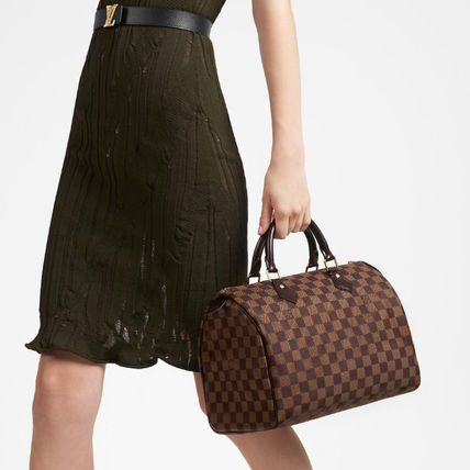 Louis Vuitton ボストンバッグ 2019AW【Louis Vuitton】スピーディ 30 ダミエ・エベヌ バッグ(6)