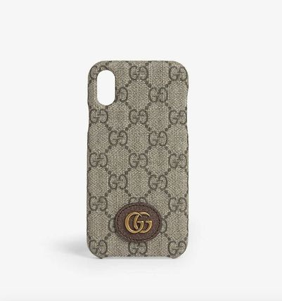 GUCCI スマホケース・テックアクセサリー 国内発送★GUCCI★Ophidia  iPhone X/XS Case(2)