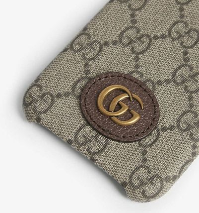 GUCCI スマホケース・テックアクセサリー 国内発送★GUCCI★Ophidia  iPhone X/XS Case(3)