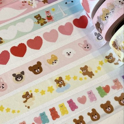 LOVE IS GIVING マスキングテープ 韓国人気★ LOVE IS GIVING ★ masking tape 3types(2)