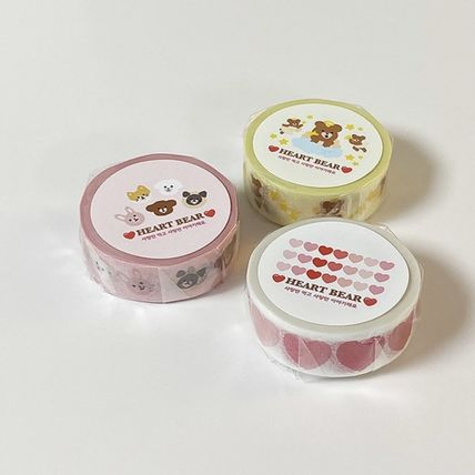 LOVE IS GIVING マスキングテープ 韓国人気★ LOVE IS GIVING ★ masking tape 3types(12)