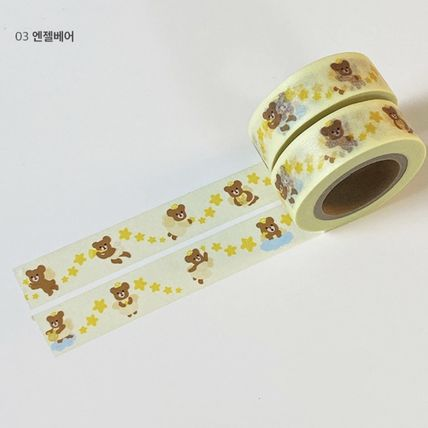 LOVE IS GIVING マスキングテープ 韓国人気★ LOVE IS GIVING ★ masking tape 3types(10)