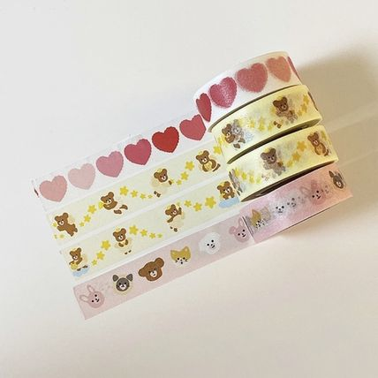 LOVE IS GIVING マスキングテープ 韓国人気★ LOVE IS GIVING ★ masking tape 3types