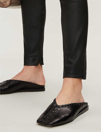Theory ボトムスその他 関税込み◆High-rise leather leggings(5)