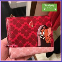 【kate spade×tom & jerry】コラボ★small bifold wallet