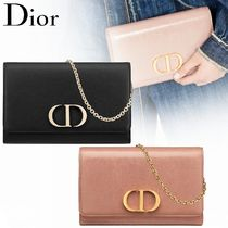 """Dior """"30 MONTAIGNE"""" チェーンウォレット クラッチバッグ 2色"""