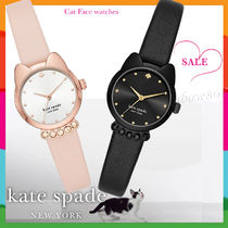 【SALE】kate spade Cat Face watches 選べる2色