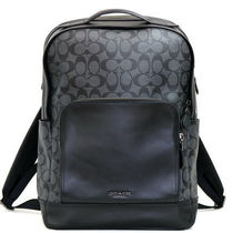 ☆COACH☆GRAHAM BACKPACK IN SIGNATURE CANVAS