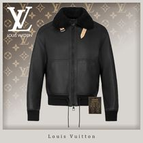 20SS【国内直営】Louis Vuitton タグ付き◇レザーアビエイター
