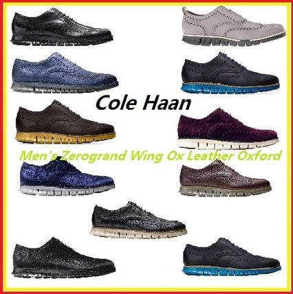 Cole Haan ドレスシューズ・革靴・ビジネスシューズ ★COLE HAAN★Men's Zerogrand Wing Ox Leather Oxford 全11種